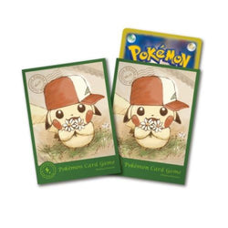 Pokemon Card Game Pikachu in Ash's Kanto Hat Sleeves