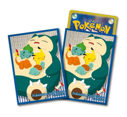 Pokemon Card Game Snorlax and Friends Sleeves