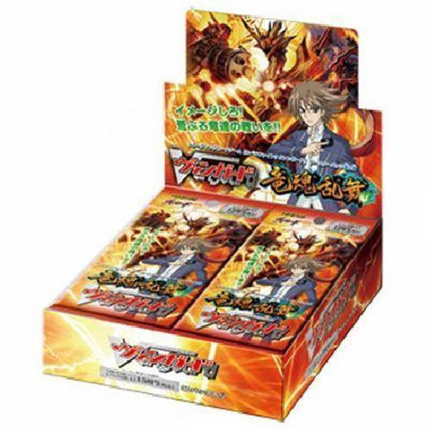 Cardfight Vanguard Onslaught of Dragon Souls Japanese Booster Box VG-BT02