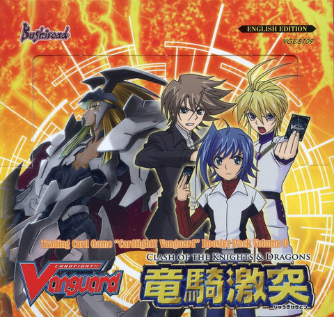 Cardfight Vanguard Clash of Knights and Dragons Booster Box VGE-BT09