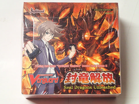 Cardfight Vanguard Seal Dragons Unleashed Booster Box VGE-BT11