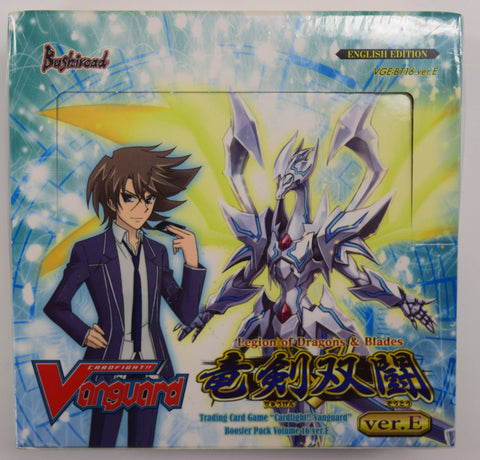 Cardfight Vanguard Legion of Dragons and Blades Booster Box VGE-BT16 Ver.E
