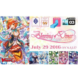 Cardfight Vanguard G Blessing of Divas Clan Booster Box