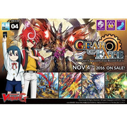 Cardfight Vanguard G Gear of Fate Clan Booster Box VGE-G-CB04