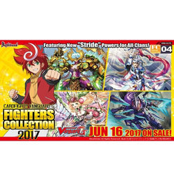 Cardfight Vanguard G Fighters Collection 2017 Booster Box
