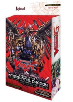 Cardfight Vanguard G Odyssey of the Interspatial Dragon Start Deck VGE-G-SD01