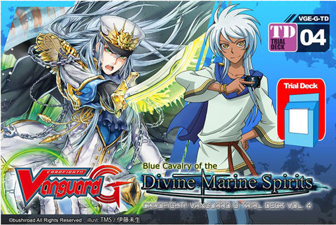 Cardfight Vanguard G Blue Cavalry of the Divine Marine Spirits Trial Deck VGE-G-TD04