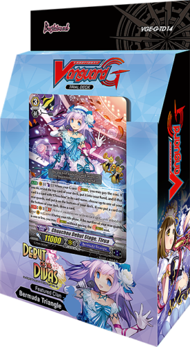 Cardfight Vanguard G Debut of the Divas Trial Deck VGE-G-TD14