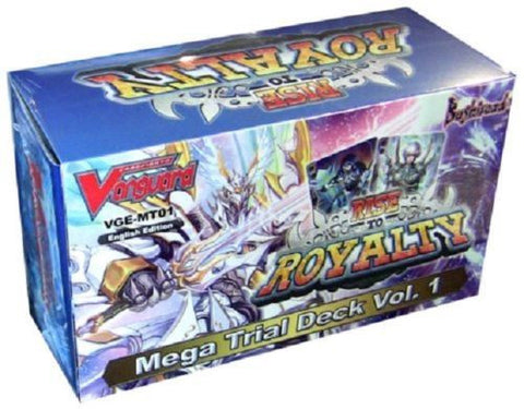 Cardfight Vanguard Rise to Royalty Mega Trial Deck