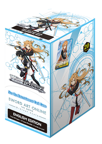 Weiss Schwarz Sword Art Online The Movie Ordinal Scale Booster Box