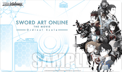 Weiss Schwarz Sword Art Online Ordinal Scale Playmat
