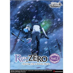 Weiss Schwarz Re:Zero Starting Life in Another World Vol. 2 Booster Box