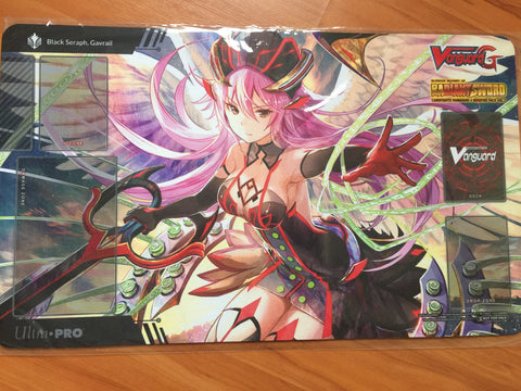 Cardfight Vanguard G Radiant Sword Black Seraph, Gavrail Playmat