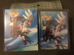 Pokemon Card Game Gladion and Silvally Sleeves and Deck Box Pack