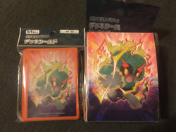 Pokemon Card Game Marshadow Deck Box and Sleeves Combo