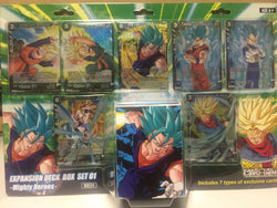 Dragonball Super Expansion Deck Box Set 01 -Mighty Heroes- DBS-BE01