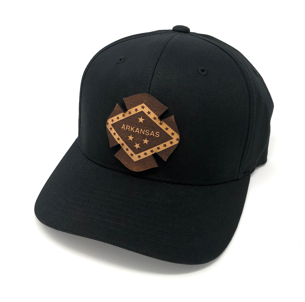 AR Leather Flag Hat