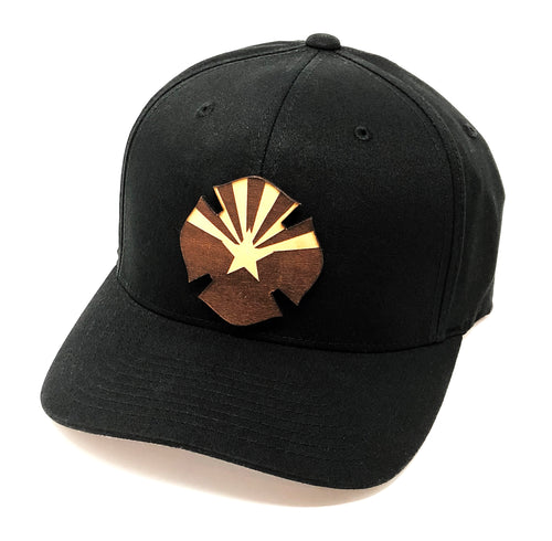 AZ Leather Flag Hat