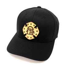 GA Leather Flag Hat