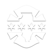 IL/Chicago Flag Decal - Fire Fifty