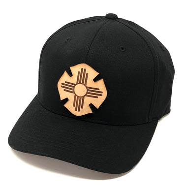 NM Leather Flag Hat