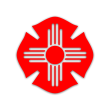 NM Flag Decal