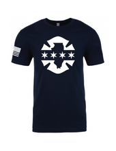 IL/Chicago Flag Tee - Fire Fifty