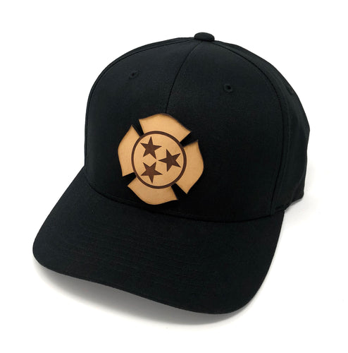 TN Leather Flag Hat