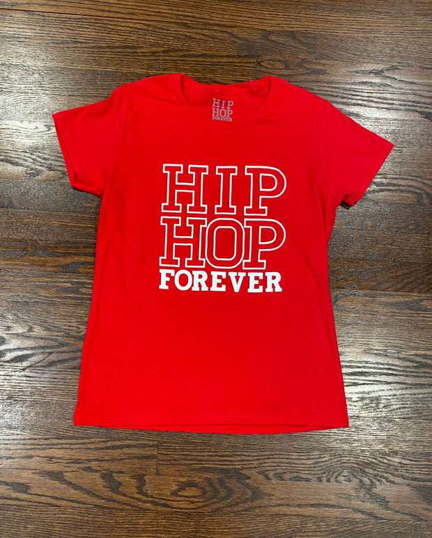 Hip Hop Forever Female Cut T-Shirt