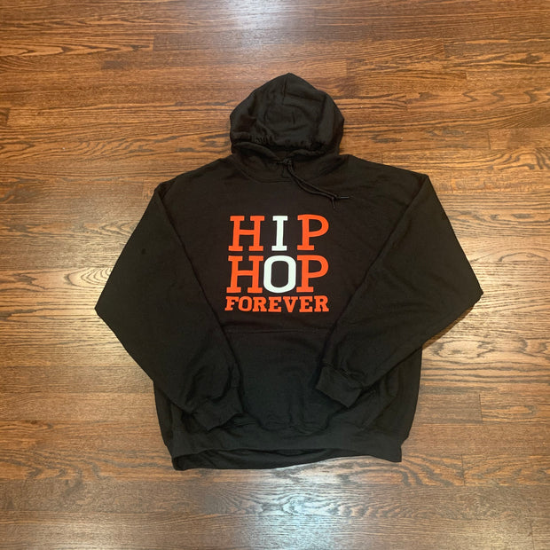 HIP HOP FOREVER BLK/Red/White Hoodie