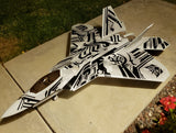 F-22 Raptor Tribal Graphics Set