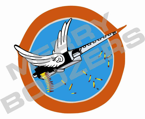 344th Fighter Squadron Sticker