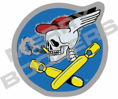 587th Bombardment Group Sticker