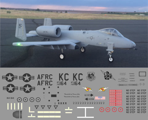 A-10 Kansas City Thunderbolt Graphics Set