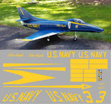 A-4 Skyhawk Blue Angels Graphics Set