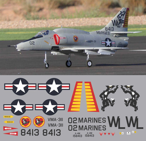 A-4M Skyhawk VMA-311 BuNo 158413 Graphics Set