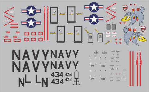 AL37 VP-45 Patrol Squadron Graphics Set