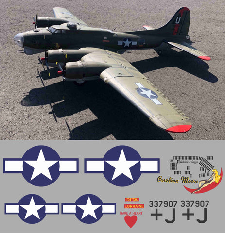 B-17 Carolina Moon Graphics Set