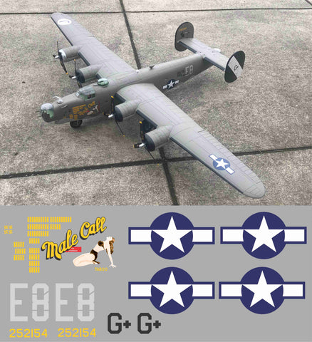 B-24 Male Call Graphics Set