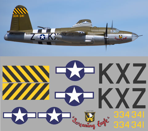 B-26 Screaming Eagle Graphics Set