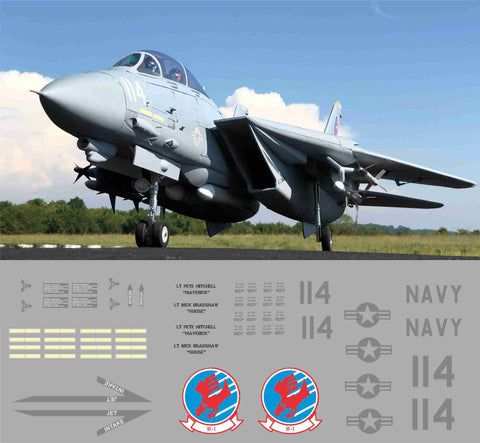 F-14 Top Gun #114 Graphics Set