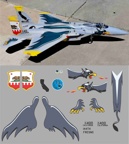 F-15 75th Annivesary 144th Fighter Wing Graphics Set