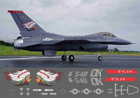 F-16 Tulsa Vipers Graphics Set