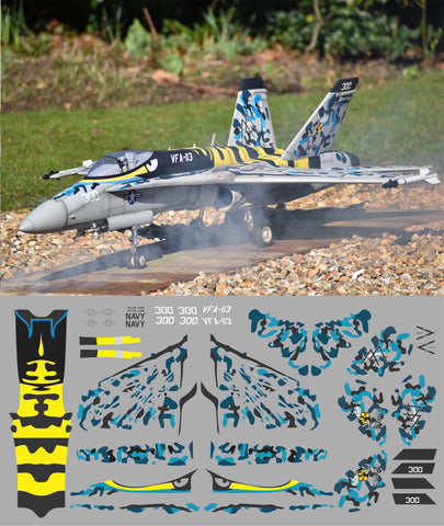 F-18 VFA-113 Year One Super Bee Graphics