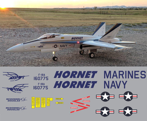 F-18 Hornet BuNo 160775 Graphics Set
