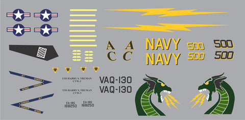 F-18 VAQ-130 The Zappers Graphics Set