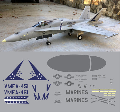 F-18 VMFA-451 Graphics Set