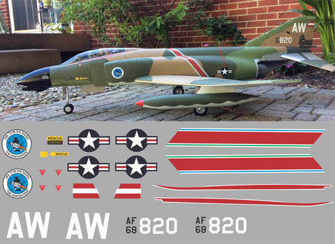 "F-4 Phantom ""Gunfighters"" Graphics Set"