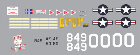 F-4 Phantom Hey Bud Graphics Set