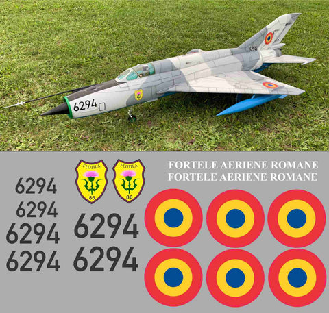 Mig-21 Romanian Airforce